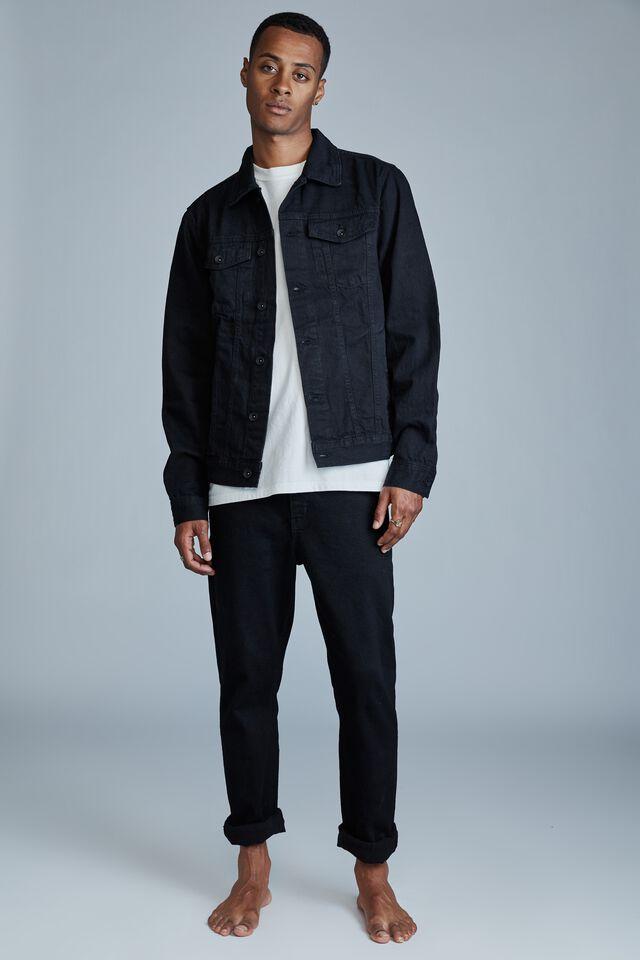Rodeo Jacket, TRUE BLACK