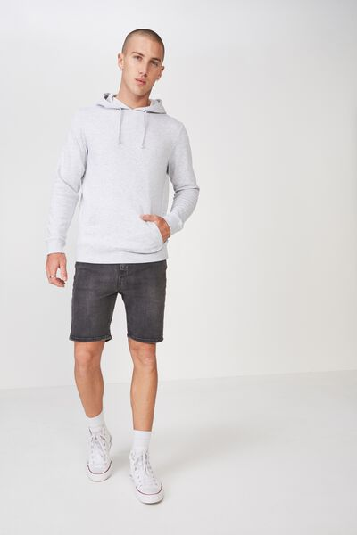 Fleece Pullover 2, LIGHT GREY MARLE
