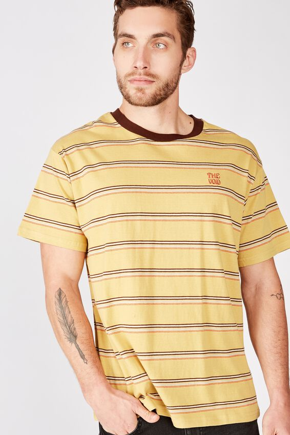 Dylan Tee, SAUTERNE YELLOW/DASCHUND/BROWN/PALE SAND/BRUSCHETT