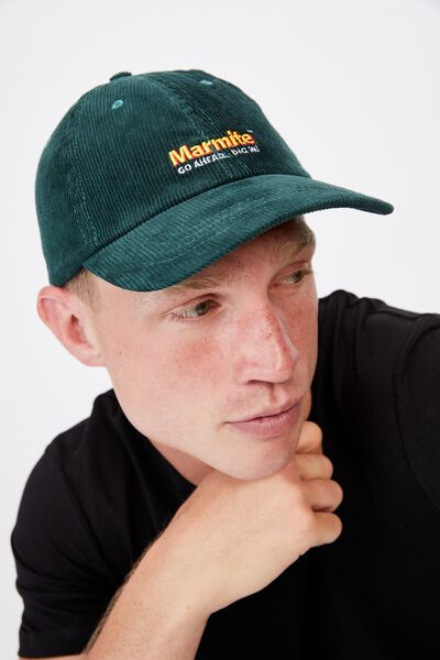 Special Edition Dad Hat, LCN MARMITE/BOTTLE GREEN