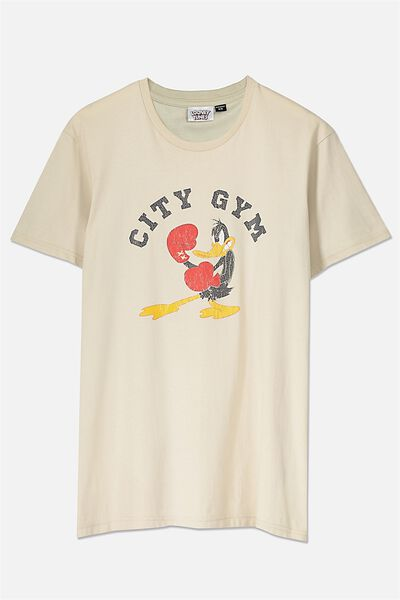 Tbar Collaboration Tee, LC IVORY/CITY GYM DAFFY