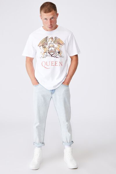 Tbar Collab Icon T-Shirt, LCN BRA WHITE/QUEEN CREST