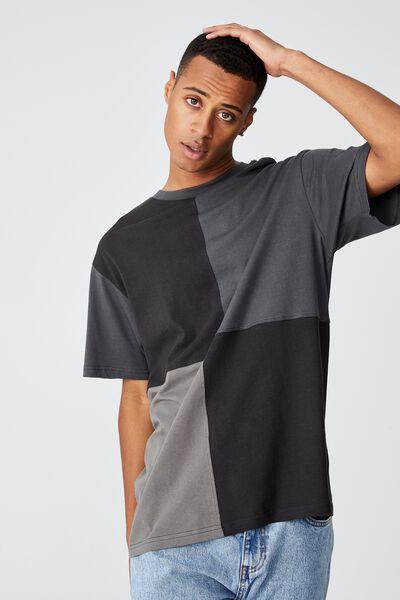 Festival T-Shirt, WASHED BLACK QUARTER PANEL