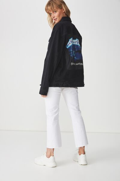 Rodeo Collaboration Jacket, METALLICA LIGHTNING/BLACK