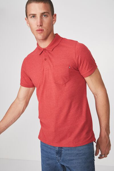 Icon Polo, RED MARLE