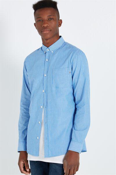 Brunswick Shirt 3, BLUE STRIPE
