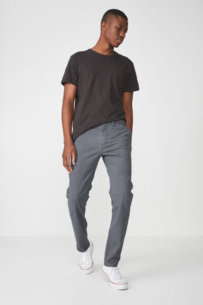 Knox Chino Pant, GREY MICRO CHECK