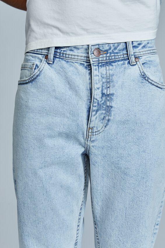 Tapered Leg Jean, ROADKNIGHT BLUE