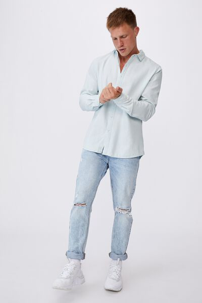 Fitzroy Denim Shirt, BONDI BLUE