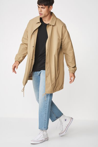 Trench Coaches Jacket, TAN