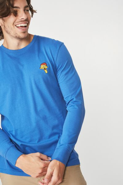 Tbar Collaboration Ls Tee, LC BLUE DELIGHT/CLETUS