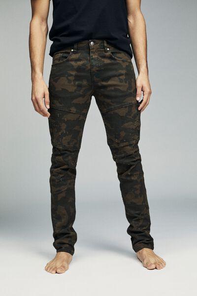 Slim Fit Jean, CAMO UTILITY