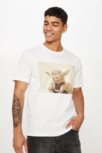 Tbar Collab Star Wars T-Shirt, LCN DIS WHITE/USE THE FORCE