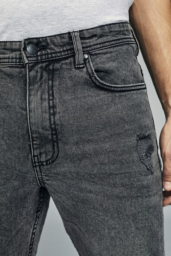 Tapered Leg Jean, ELEMENT GREY