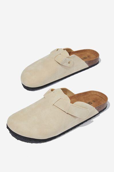 Closed Toe Sandal, SAND/TEXTURE