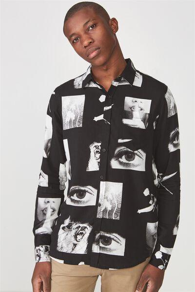 91 Shirt, BLACK PHOTO PRINT