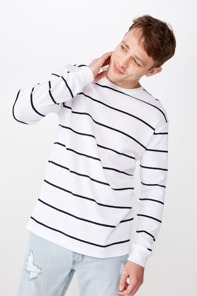 18cac5608 Men's Long Sleeve T-Shirts & Longline Tees | Cotton On