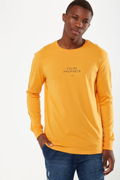 Tbar Long Sleeve, SUN ORANGE/FALSE PROPHETS