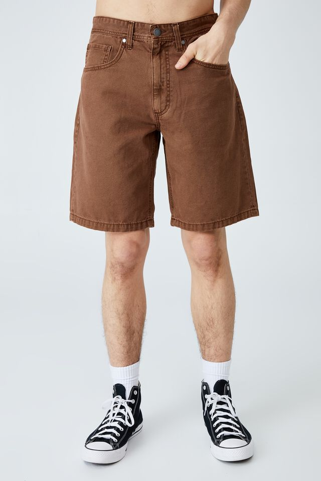 Loose Fit Short, WASHED CLAY CANVAS