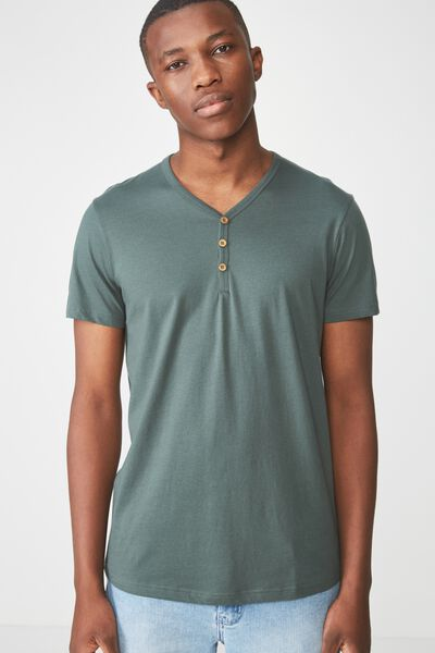 Essential Henley, FROSTED KHAKI