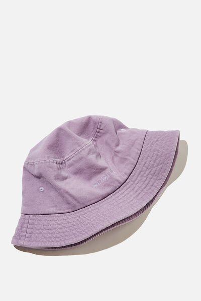 Bucket Hat, PASTEL PURPLE/WEEKEND STUDIO