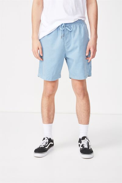 Easy Short, LIGHT BLUE/CORD