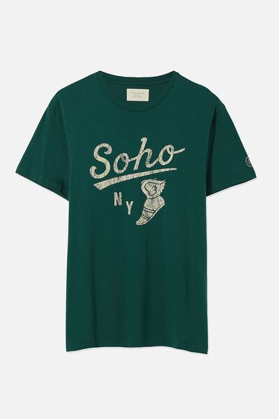 Tbar Tee, SPORT GREEN/SOHO NY