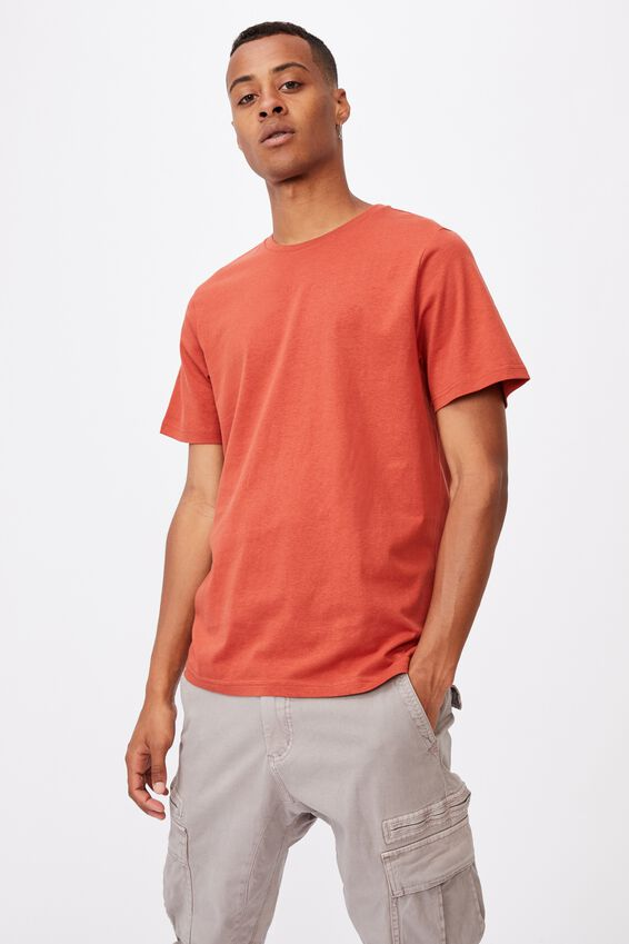 Essential Crew T-Shirt, CINDER ORANGE