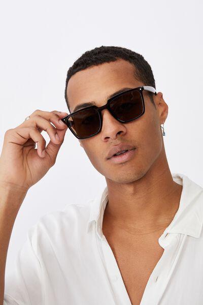 Newtown Sunglasses, GREY/BROWN