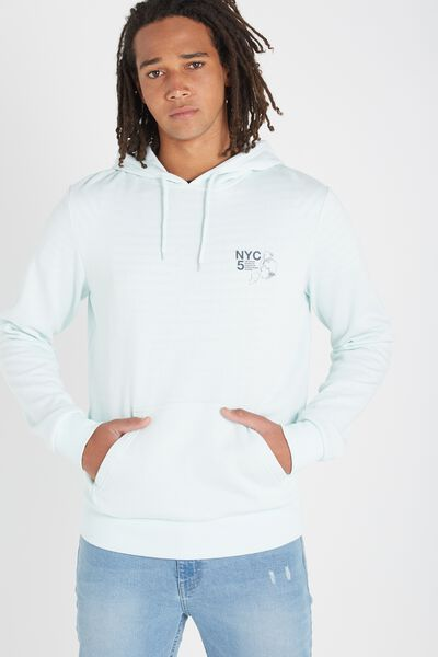 Fleece Pullover 2, CLEARWATER BLUE/NYC 5 BOROUGHS