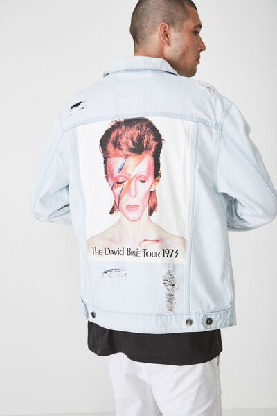 Rodeo Collaboration Jacket, DAVID BOWIE/BLEACH