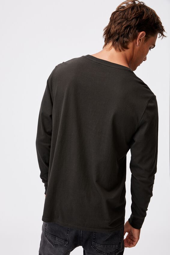 Tbar Collab Long Sleeve T-Shirt, LCN PRO WASHED BLACK/RATM-THE BATTLE OF LOS A