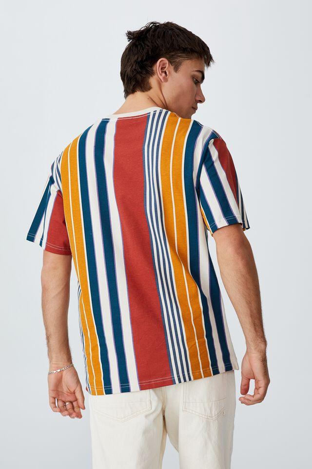 Downtown T-Shirt, PARADISE BRUSCHETTA RED STRIPE