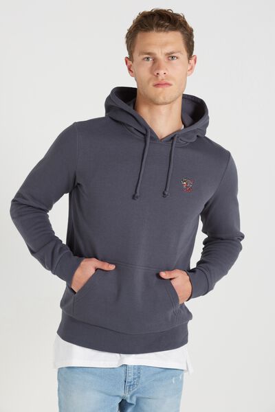 Fleece Pullover 2, LATE NIGHT BLUE/3 EYED PANTHER