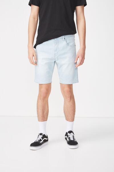 Skinny Straight Short, BLEACHER BLUE
