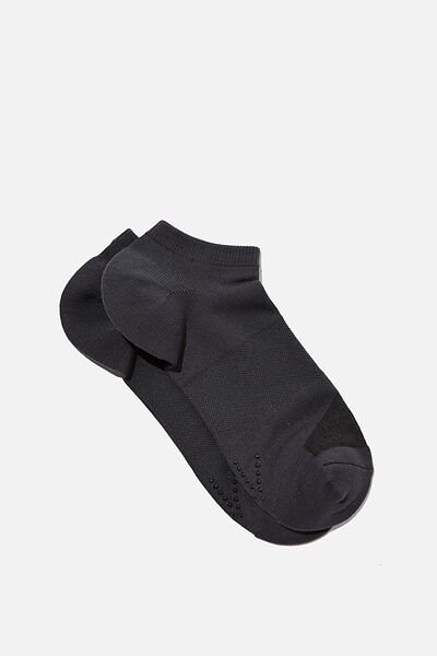 Performance Sneaker Sock, CHARCOAL