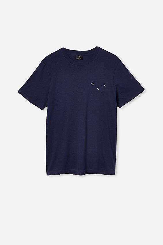 Tbar Text T-Shirt, INDIGO/NYC REVOLVE