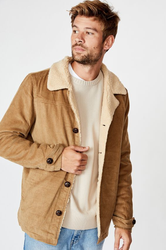 Ranch Jacket, TAN CORD