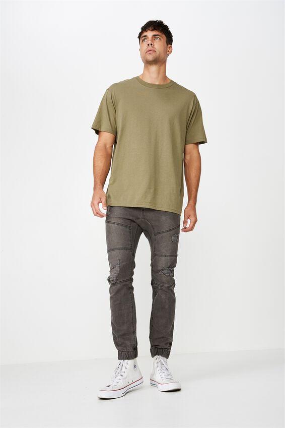 Essential Skate T-Shirt, JUNGLE KHAKI