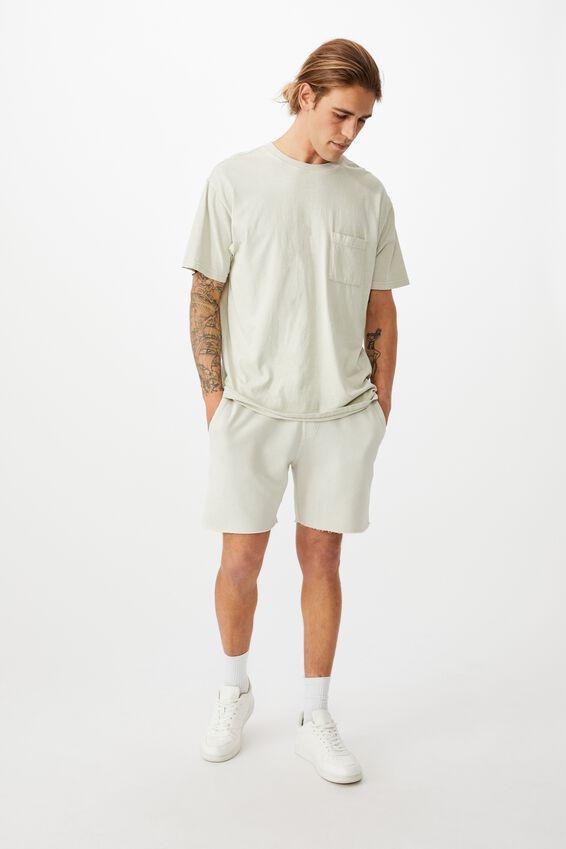 Pigment Fleece Short, ECRU
