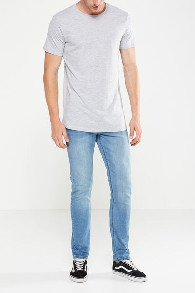 Slim Fit Jean, EXPOSURE MID BLUE