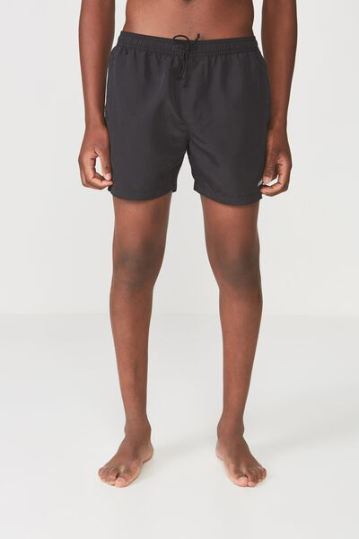 Swim Short, BLACK TAS