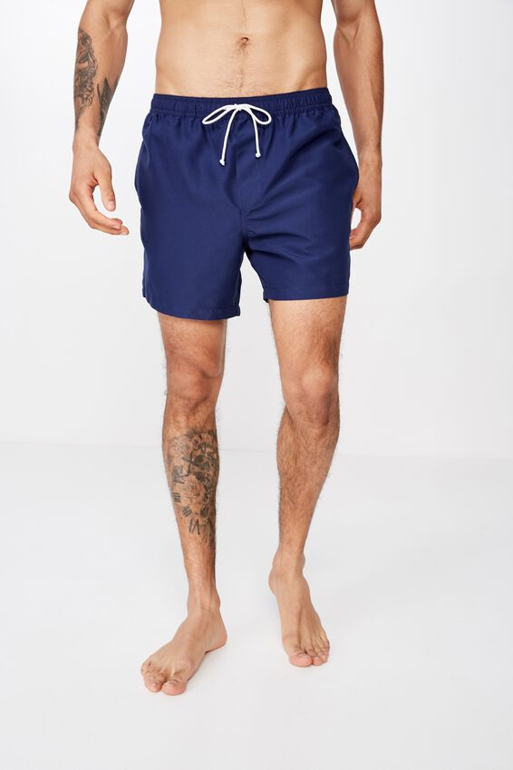 Swim Short, SOLID NAVY