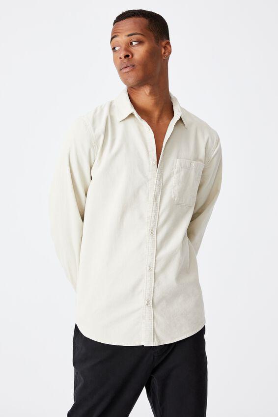 Festival Long Sleeve Shirt, STONE CORD