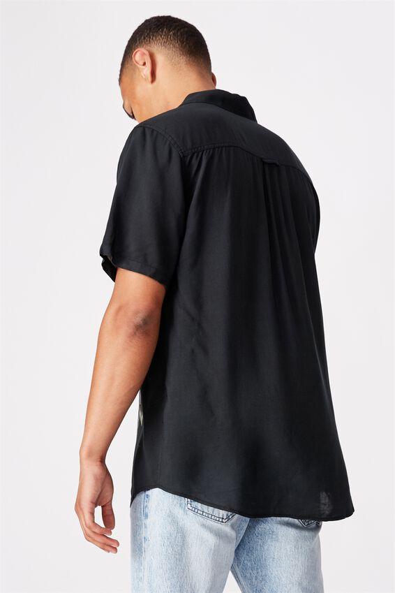 Short Sleeve Resort Shirt, BAMBOO PLACEMENT