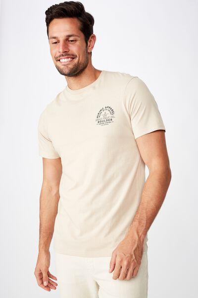 Tbar Souvenir T-Shirt, PEARL/BOULDER