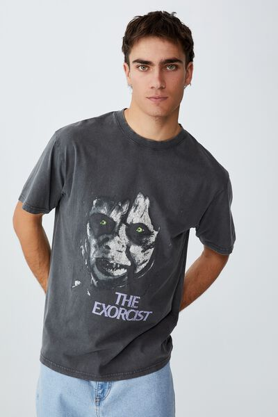 Special Edition T-Shirt, LCN WB BLACK/THE EXORCIST - EYES
