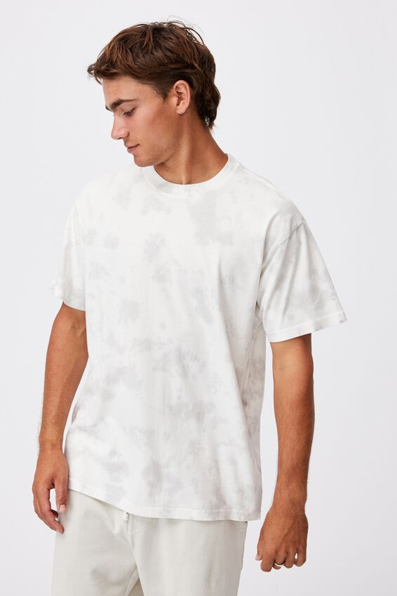 Festival T-Shirt, WASHED WHITE CLOUD WASH