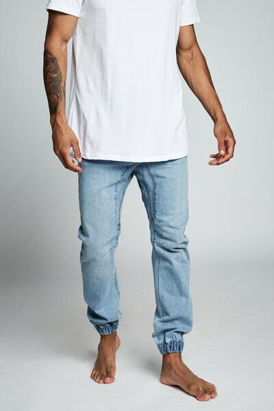 Slim Denim Jogger, EVERYDAY BLUE
