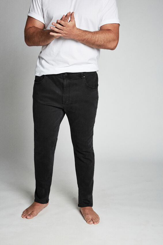 Bg Slim Fit Jean, NEW BLACK